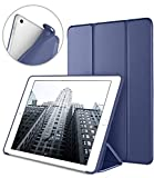 DTTO iPad 9.7 Case 2018 iPad 6th Generation Case/2017 iPad 5th Generation Case, Slim Fit Lightweight Smart Cover with Soft TPU Back Case for iPad 9.7 2018/2017 [Auto Sleep/Wake] - NavyBlue