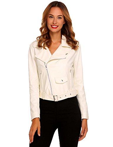 Leather Jacket Cream - 9