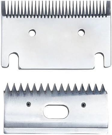 GST - Cuchillas finas para cortapelos (1 mm) Ajuste Heiniger, Liveryman, Aesculap, Masterclip.