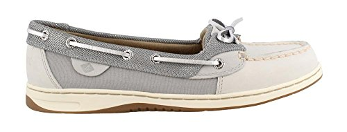 Sperry Women's, Angelfish Boat Shoes Grey Multi 8.5 M