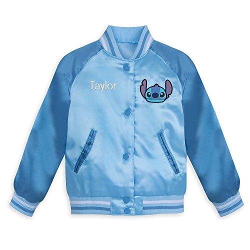 Disney Stitch Varsity Jacket for Kids - Size 3 Blue -