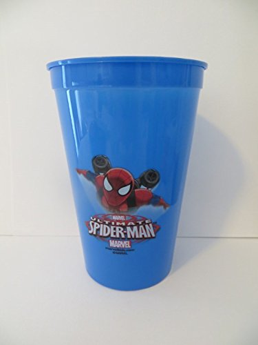 Spiderman Bath Set 3 Pieces - Cup, Mouthwash, Toothbrush wit