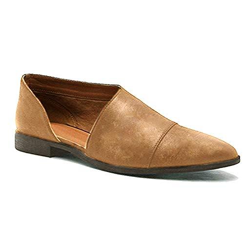 Albaricoque De Cabeza Sandals Casual Playa Verano Moda Retro Shoes Planos Bohemia Romanas Puntiaguda Elegante Sandalias Mujeres Zapatos Minetom ZYTqx