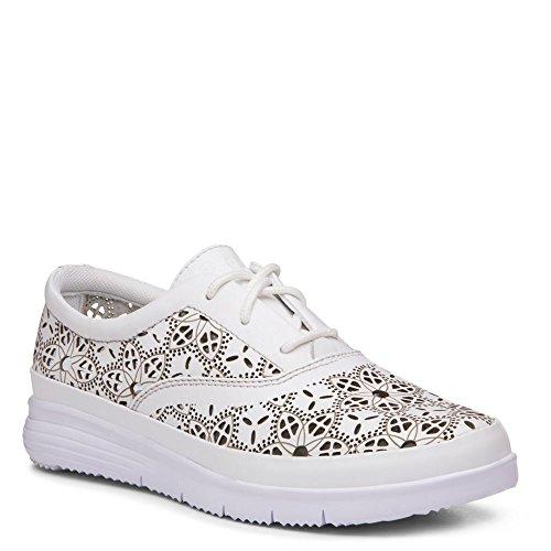 Propet Womens Harper Leather, Eva Fashion Sneakers White