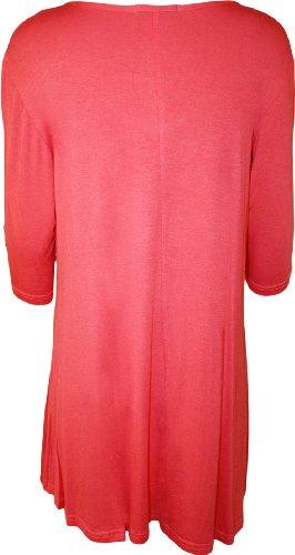 WearAll WearAll T shirt Donna Donna Koralle shirt Koralle T WearAll qZBPrq7nS