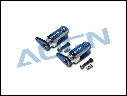 Align/T-Rex Helicopters 600/600N New Metal Main Rotor Holder, Blue