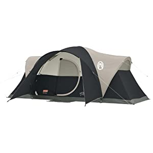 Amazon Com Coleman Montana 8 Person Tent Black Sports