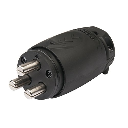 (Marinco 12VBPS3 Trolling Motor Plug 70 Amp)