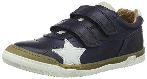 Bisgaard Unisex-Kinder Klettschuhe Low-Top Blau (600 Blue)