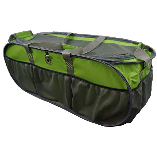 K-Cliffs Green Pop-Up Trunk Organizer | Heavy Duty Lining | Eco-Friendly Reusable ()