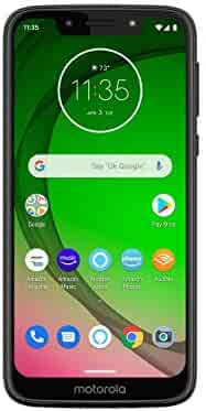 Moto G7 Play with Alexa Push-to-Talk – Unlocked – 32 GB – Deep Indigo