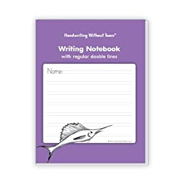 Handwriting Without Tears WN Double Line Regular Writing Notebook, 0.2\