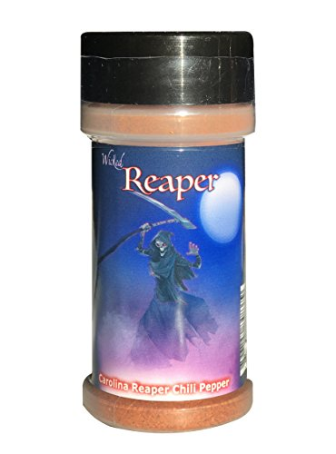 Carolina Reaper Chili Pepper Powder Wicked Reaper World's Hottest Chili Pepper