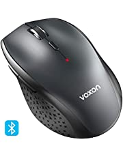 VOXON 3000DPI Bluetooth Wireless Mouse, 24 Month Battery Life With Battery Indicator, 3000/2000/1600/1200/800 dPi