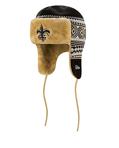 3cb44272c84 New Orleans Saints Team Trapper Hat – Football Theme Hats