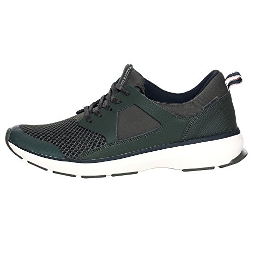 Jack&Jones Herren Turnschuhe Grün 12121845 JFWHATTON MESH FOREST NIGHT