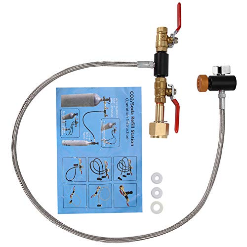 Top recommendation for soda stream valve adapter