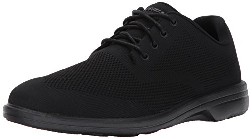 Skechers USA Men's Walson Dolen Oxford,Black,11 M US