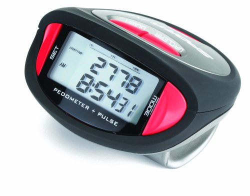 Sportline 356 Pulse Pedometer (Pedometer Walking Sportline Advantage)