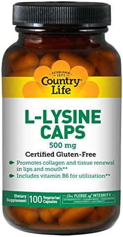 Country Life L-lysine 500 Mg