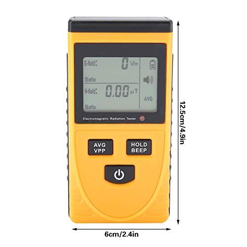 mootea GM3120 Probador EMF para detectores de radiación electromagnética Digital: Amazon.es: Electrónica