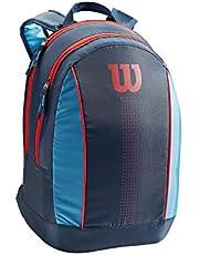 Wilson Unisex-Youth JUNIOR BACKPACK Tennistas, marineblauw, 2 rackets