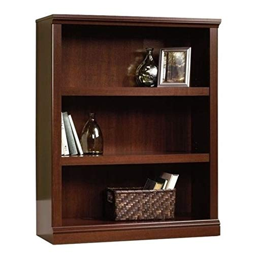 Bowery Hill 3 Shelf Bookcase in Select Cherry