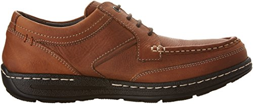 Hush Puppies Vines Para Hombre Victory Oxford Dark Brown Leather