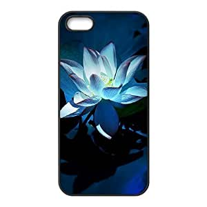 Beautiful flowers DIY Cover Case with Hard Shell Protection for Iphone 5,5S Case lxa#876995