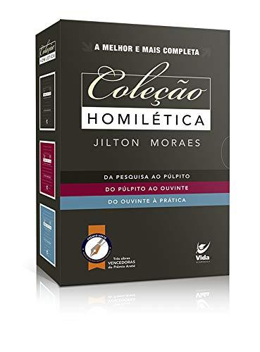 Coleção Homiletica. Jilton Moraes