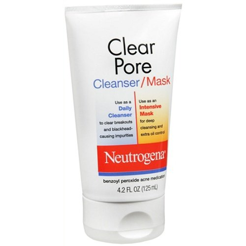 Neutrogena Clear Pore Cleanser/Mask 4.2 fl oz (125 ml)