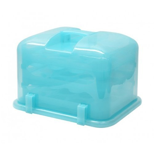 Cupcake Courier FBA_G0213B Cupcake Carrier- Sky Blue, Soft]()