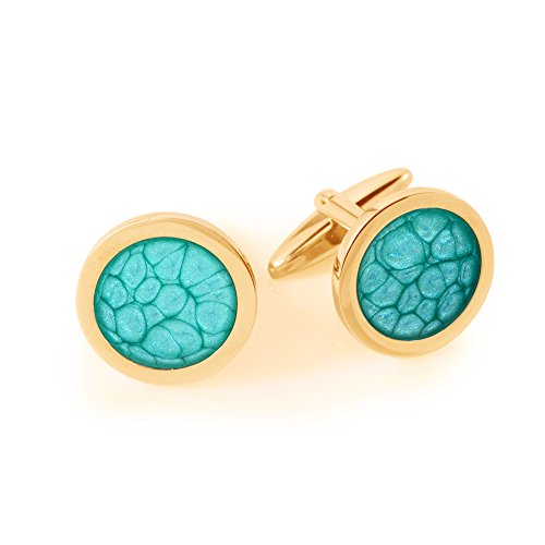 - Turquoise Cufflinks Unisex Accessory Gift for Him