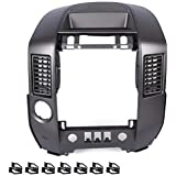 Replacement for Nissan Titan Armada SE & LE 2004-2006 Instrument Panel Center Radio AC Control Bezel with Center Speaker…
