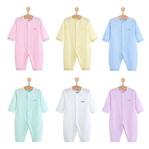 YOUQI Baby Clothes Boys Girls Bodysuit Toddler Infant Jumpsuit Clothing Long Sleeve Baby Rompers