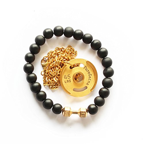 SUPERSET Weight Necklace Dumbbell Bracelet