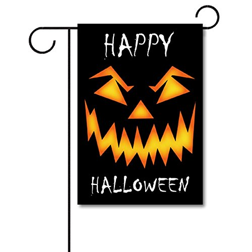 Banedy Scary Halloween Face Garden Flag 12.5