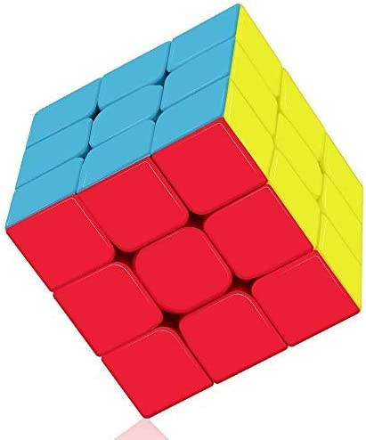 Blossom 3x3x3 Magic Speed Cube Square with Smooth Turning and Excellent Rotation which Analysis Critical Thinking, Creativity & Imagination, Hand & Eye Co-Ordination, (Multi Color)