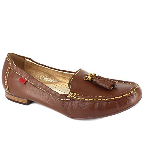 Marc Joseph New York Womens East Village Leather Lining Rhino Loafers Cognac, Size 9.5 by Marc Joseph New York