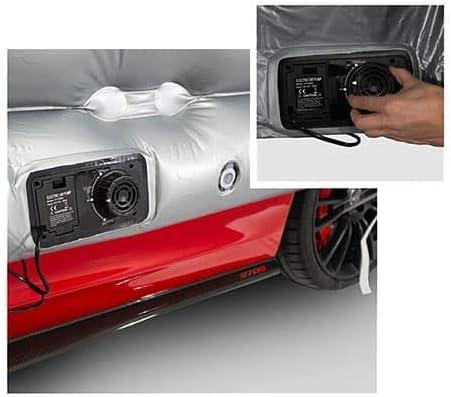 HailSuit aufblasbare Autoabdeckung Hagelschutz XXL