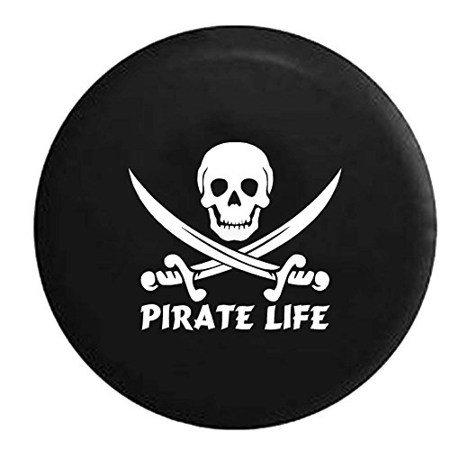 Swords Saltwater Edition Spare Tire Cover OEM Vinyl Black 32-33 in ()