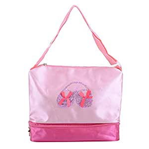 Rlorie Bolso Personalizado para Baile Y Gimnasia,Bolsa de Ballet Danza,Deportes para Niña Tote Bolsa Princesa Niña Infantil