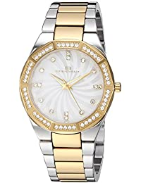Women's Athena Quartz Watch with Stainless-Steel Strap, Two Tone, 21 (Model: OC0253)