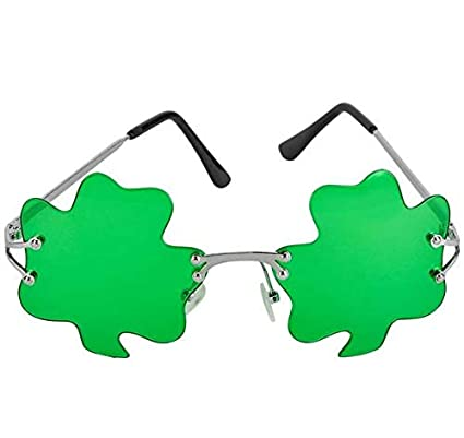 ddb5d4adf1 Amazon.com  Rhode Island Novelty St. Patricks Day Green Shamrock ...