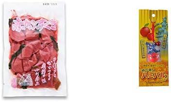 [2点セット] 赤かぶすぐき(160g)・信州・飯田のシンボル 時の番人ハミパルくんストラップ