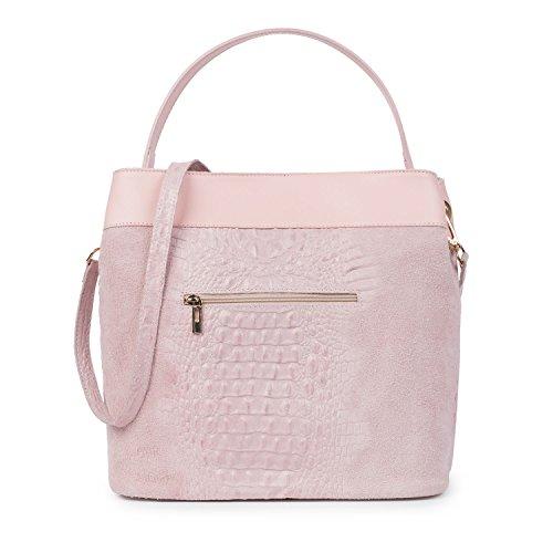 Santa Firenze, Borsa a spalla donna rosa pallido