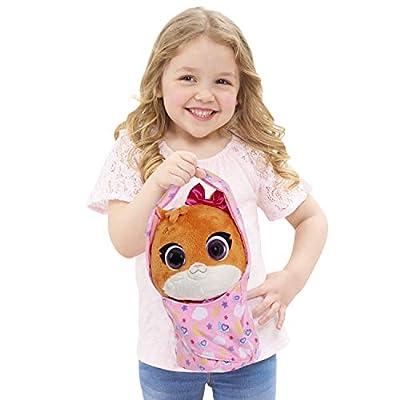 Disney Jr T.O.T.S. Cuddle & Wrap Plush - Mia The Kitten: Toys & Games