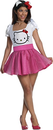 Secret Wishes Womens Hello Kitty Costume, Pink, Large