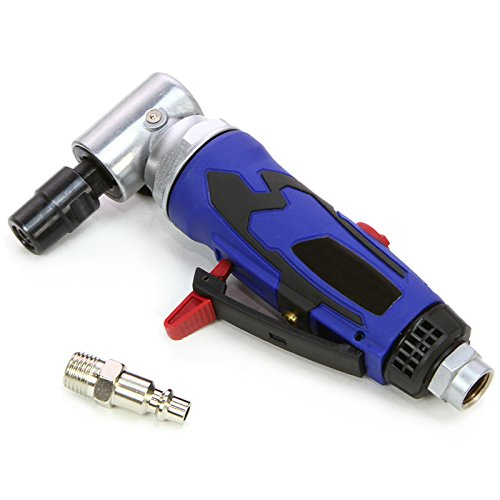 "XtremepowerUS 1/4"" Elite Air Pneumatic Right Angle Die Grinder Polisher Cleaning Cut Off Cutting Tools"