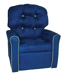 Dozydotes Kid\'s Home Furniture Rocker Recliner Accent - Sea Kiwi